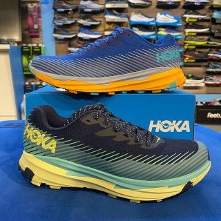 Fresh new colors in the @hokaoneone Torrent 2 trail shoe. #hokaoneone #trailrunningshoes #trailrunning #oregontrailrunning