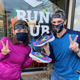 Peace ☮️ , love ❤️ and run happy🏃‍♀️😃. We received a shipment of some psychedelic Brooks Launch 8 Tie Dye Edition in both men's and women's sizes.  Make your next run groovy baby. ✌️  #brooksrunning #runhappy #groovyshoes #tiedye #brookslaunch8 #peaceloverunning