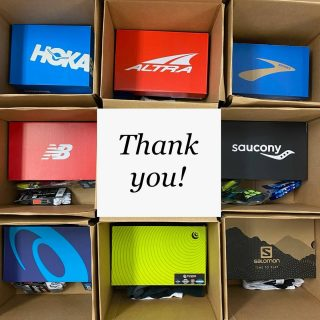 A big thanks to many of you who donated to our wildfire relief fund! You raised almost $900 for our efforts. With your help and the help of Altra, Balega, Brooks, Feetures, HOKA, New Balance, OOFOS, Saucony, Topo and Wrightsock, we were able to fulfill nearly 50 requests for new shoes and socks. We hope this provides some comfort to those who were displaced and lost their belongings in the fire.