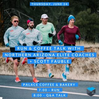 Join us Thursday morning for a run and coffee talk with the Northern Arizona Elite coaching staff plus 2:09 marathoner, Scott Fauble.  We will meet at Palace Coffee & Bakery at 7:00 a.m. for a 3-4 mile run.  Post run we'll talk with the NAZ coaches and Scott about training, life, Olympic Trials, and all things HOKA NAZ Elite while we enjoy coffee and some pastries from Palace Coffee & Bakery.   Note our run will include the Ruth Bascom River Path and will count as our seventh Eugene Runner's Passport run.   Sponsored by Hoka One One  #hokaoneone #nazelite #timetofly #eugenerunnerspassport #runeugene #olympictrials #trackandfield #eugeneoregon #haywardfield #eugenerunning #runhubnw #brooksrunning #ruthbascomriverbankpath #palacecoffeeandbakery