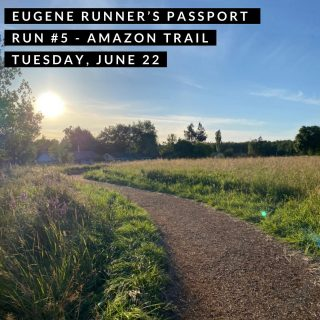 Join us for our fifth run of the Eugene Runner's Passport on the Amazon/Rexius woodchip trail.  We'll start from 24th and Amazon Pkwy about 7 a.m. or run on your own anytime from 7-9 a.m. and we'll be there to stamp your passport and give you route suggestions.   #eugenerunnerspassport #runeugene #olympictrials #trackandfield #eugeneoregon #haywardfield #eugenerunning #runhubnw #brooksrunning #amazontrail #rexiustrail