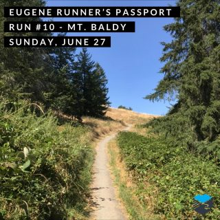Join us for our final passport run of the Olympic Trials at Mt. Baldy on Sunday morning.  We'll meet at the trailhead at Dillard Road and Hidden Meadows Drive.  The run starts about 7:00 a.m. or run on your own anytime from 7-9 a.m. and we'll be there to stamp your passport and give you route suggestions.  There will be shaded options on the a Ridgeline trail too!  #eugenerunnerspassport #runeugene #olympictrials #trackandfield #eugeneoregon #haywardfield #eugenerunning #runhubnw #mountbaldy #ridgelinetrail