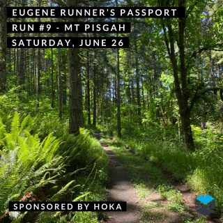Join us for the penultimate run of our  Eugene Runner's Passport at Mount Pisgah.  We'll start the run at 8 a.m. from the main (south) parking area and have multiple route suggestions.  @hokaoneone will have some demo shoes (Speedgoat 4 and Clifton 8), plus some giveaways.  #eugenerunnerspassport #runeugene #olympictrials #trackandfield #eugeneoregon #haywardfield #eugenerunning #runhubnw #hokaoneone #mountpisgaharboretum #trailrunning #oregontrailrunning
