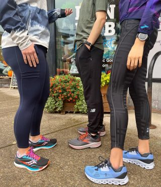 Shorter, longer, fitted or loose, we've got you covered with a variety of tights and pants to keep you going all fall and winter. Not to mention, Gore-Tex shoes and jackets! We're also stocking the Oiselle pocket jogger 3/4 tights in sizes 2 to 16/18.   #winterrunning #runeugene #runhubnw #runhappy #onrunning #goretex