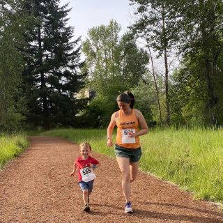 Great evening for a 5k at Alton Baker Park on Pre's Trail with the OTC Run/Walk Series!  Mark your calendar for the second Thursday of each month through October.   #oregontrackclub #otcrunwalkseries #eclecticedgeracing #runeugene #runhubnw