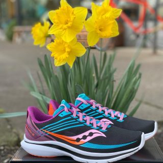 New things are springing up at Run Hub, like the Saucony Kinvara 12. It has a completely new design but we think you're going to like the changes on this fast lightweight trainer with a cult-like following.  #saucony #sauconyrunning #kinvara12 #runforgood #runhubnw