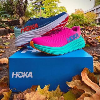 Come get your autumn on with us and Hoka One One at this Wednesday's community run!   There'll be a chance to demo the new Rincon 3's, score some fall'ish treats (think caramel apples, cider, and other fall-themed beverages 🍂), and win some prizes.  Campbell Park, 6pm. See you there!  #runeugene #hokaoneone #runhubnw #fall #running #eugeneoregon