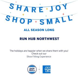 Join us on Small Business Saturday and the following week for deals in the store and online! Thank you for shopping local! Deals include: 🎁 Spend $100 on regularly priced merchandise and get a $20 gift card (SATURDAY ONLY) 👕 Buy one get one 50% off on apparel ⌚ 50% off Garmin Fenix 5 and $50 off Garmin Forerunner series 🎧 $15-35 off AfterShokz headphones 🧦 Balega and Feetures socks will be buy three, get one free (through Monday, Nov. 30) ⚡ $70 off Bluetooth Hypervolt (through Monday, Nov. 30, $50 off after that) ‼️25% off Superfeet (through Wednesday, Dec. 2) 🤩 20% off Oofos (through Monday, Nov. 30) 🌲 25% off Salomon shoes in stock (through Friday, Dec. 4) 👟 20% off Saucony shoes in stock, excluding Endorphin Pro (through Monday, Nov. 30) 🏃🏾‍♀️ 20% off Tailwind (through Monday, Nov. 30)