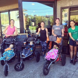 Join us at 9am tomorrow morning for the Parent/stroller run. We'll meet in front of the store and head out on the river path for a few miles together! All paces are welcome.