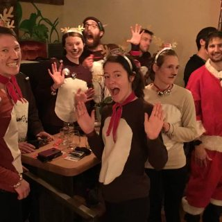 Run Rudolph 🦌 Run! On Saturday, Dec. 12, dress in your best Santa getup 🤶 or ugly Holiday sweater ⛄ and embark on this running scavenger hunt. You'll be entered to win a pair of @salomonrunning shoes and prizes from the following local businesses. Remember, to be entered in the raffle we ask that you donate a gift for our St Vincent de Paul Holiday Joy families. Link to sign up for a gift is in our bio. Run to each of the businesses, take a selfie in front of each one, and then post a screenshot of your activity and your selfies and tag each business in the pictures. This challenge is worth two raffle tickets! Get a bonus ticket if you take a picture of your favorite festive 🎄 window display at a downtown business. The businesses: 📚 Books with Pictures, 99 W Broadway C 🍺 ColdFire Brewing, 263 Mill St 🏋️ MTN FIT, 1570 W 7th Ave
