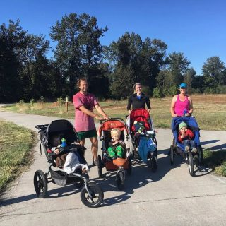 Parent/Stroller Run this Saturday morning! Meet in front of the shop tomorrow morning at 9AM! All paces are welcome.   #runeugene #runhubnw #strollerrunning