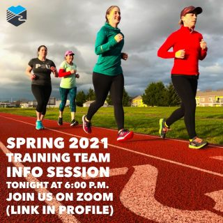 Are you interested in joining our Spring 2021 half marathon and marathon training program? Maybe you already signed up? If you have questions, the coaches will be available tonight at 6:00 p.m. on Zoom to answer those questions. There is a Zoom meeting link on the Run Hub Instagram profile page. #teamrunhub #runeugene #marathontraining #halfmarathontraining