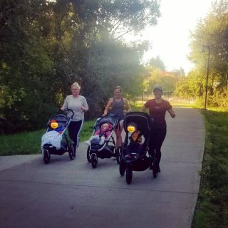 Parent/Stroller group run tomorrow morning at 9am. Bring your little pumpkins and maybe a rain jacket! We will meet in front of the store for 3-5 miles together. All paces are welcome!