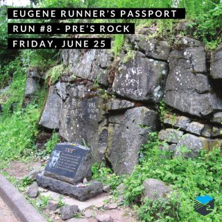 Join us for run number 8 in on our Eugene Runner's Passport.  We'll start from the @on_running display on the corner of 19th & Agate at about 7 a.m. or run on your own anytime from 7-9 a.m. and we'll be there to stamp your passport and give you route suggestions.   #eugenerunnerspassport #runeugene #olympictrials #trackandfield #eugeneoregon #haywardfield #eugenerunning #runhubnw #onrunning #presrock