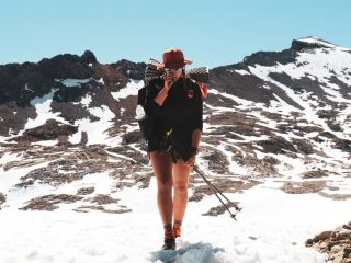 Read the new blog post from Run Hub employee Zoey, who is trekking the Pacific Crest Trail!  Zoey chronicles her journey across the Sierra Nevada mountains, which included frozen solid shoes, a night hike under a constellation-studded sky, celebratory snow cones made with electrolyte mix, and roasted fresh caught trout. She also celebrated 1,000 miles on the trail!   Click the link in our bio to read the post.  #pctclassof2021 #pct2021 #pct #pacificcresttrail #thruhike #runhubnw